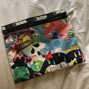 Small LeSportSac travel pouch
