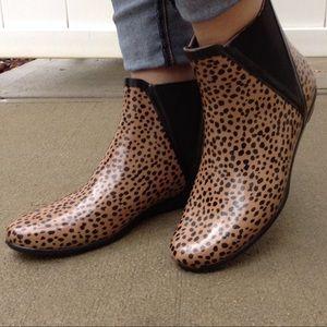 Loeffler Randall Ankle Rain Boots