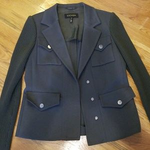 Escada Authentic Military Green Blazer