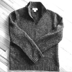 Men's J Crew 1/4 zip Sweater