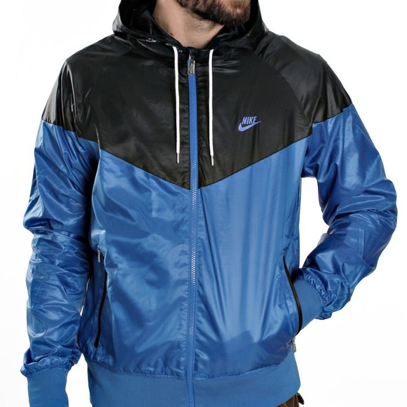 46b1f3fd3995 Nike Windrunner Royal Blue Black - Windbreaker. M 5a2bf917bf6df58734005b87