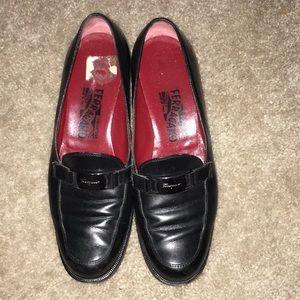 Salvatore Ferragamo Blk loafers