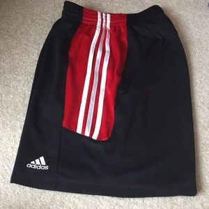 Adidas sport shorts. Men's medium.