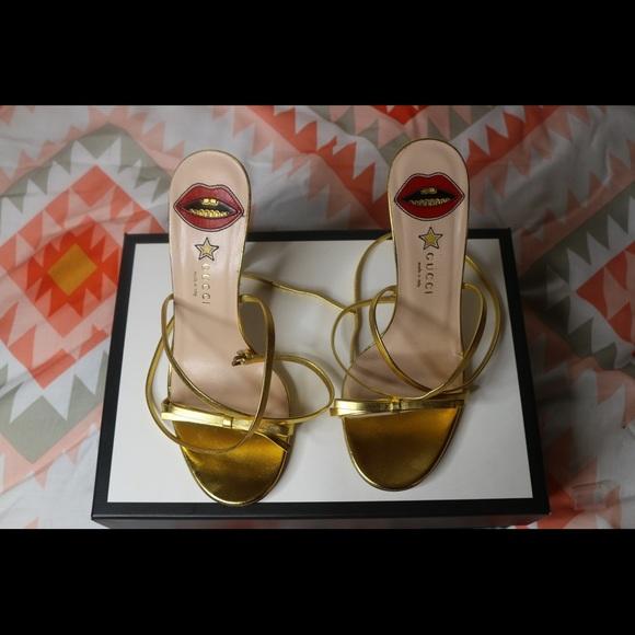 bc80c872c3fb Gucci Shoes - Gucci Leather crisscross sandal