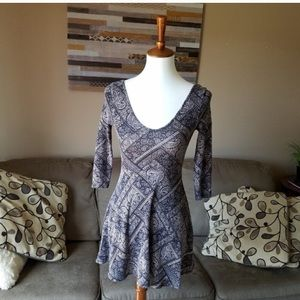 One Clothing Paisley Dress