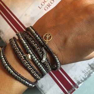 Chan Luu 5x wrap bracelet