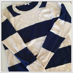 🎸Madewell Striped Knit Top
