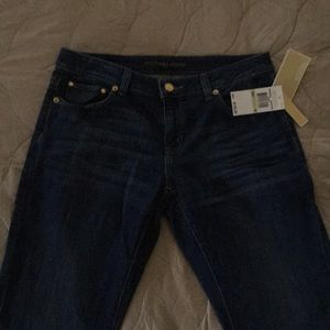 NWT Michael Kors relaxed fit jean