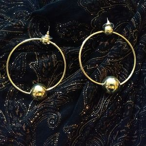 🔥SALE hypoallergenic hoops with secure backing