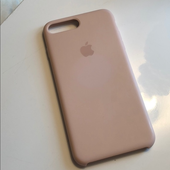 apple iphone 8 silicone case pink