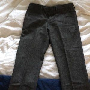 jcrew bowery wool dress pants.
