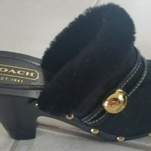 Coach Clogs NWOT