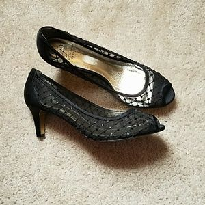 Black stone shoes
