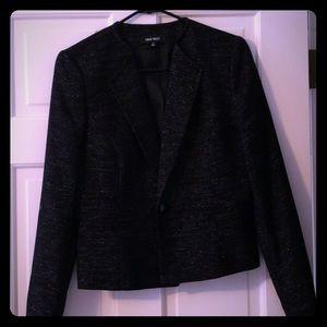 Nine West so 4 sparkly black blazer