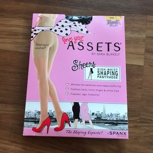 Accessories - Spanx High-Waist Shaping Pantyhose