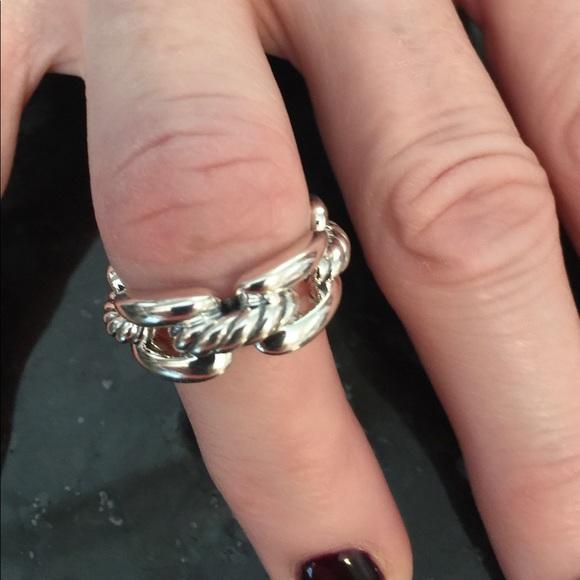 1f2ffc60880a0 David Yurman Jewelry - BRAND NEW DAVID YURMAN WELLESLEY 8 MM LINK RING