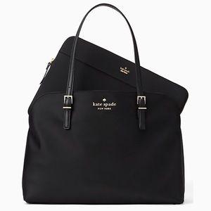 Kate Spade Watson Lane Marybeth black laptop bag