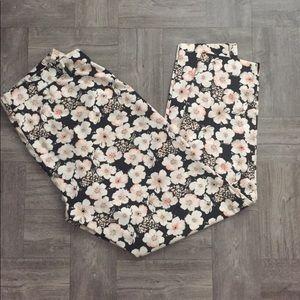 Floral LC Lauren Conrad Pants