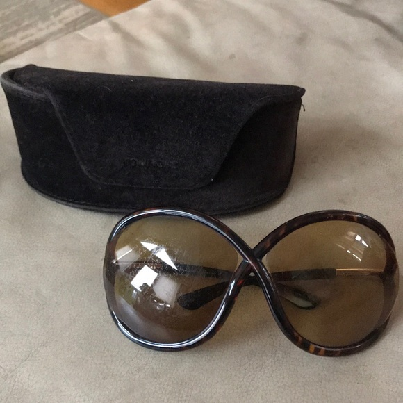 221b0bb52658 Tom Ford sunglasses and case. M 5a2c0dbc4e8d17b0af00b787. Other Accessories  ...
