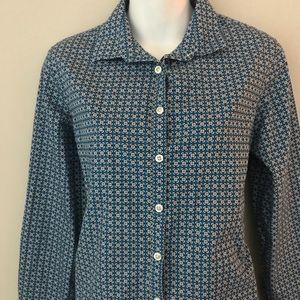Lands' End no iron button-down Shirt size 10