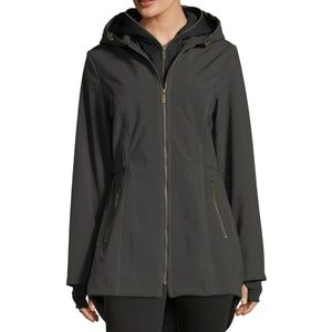 French Connection Zip Front Coat