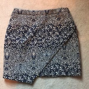 Blue and Gold H&M Skirt