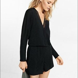 NEW Express Sparkle Romper Jumpsuit with Pockets