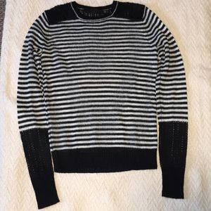 L.A.M.B. Sheer Striped Sweater NEVER BEEN WORN