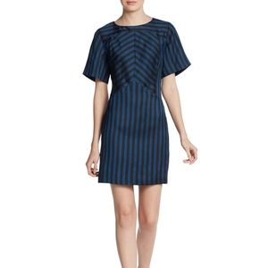 Rebecca Minkoff Europa Striped Dress Sz 2