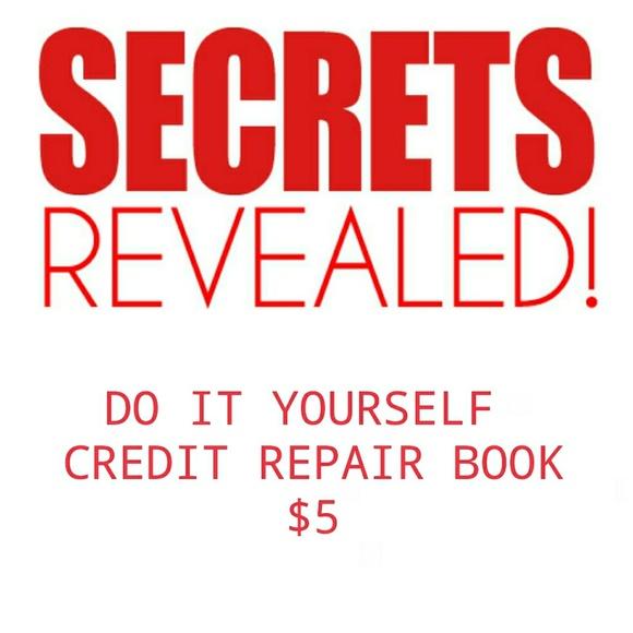 Other diy credit repair poshmark diy credit repair solutioingenieria Gallery