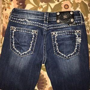 MISS ME skinny jeans. Size 26.