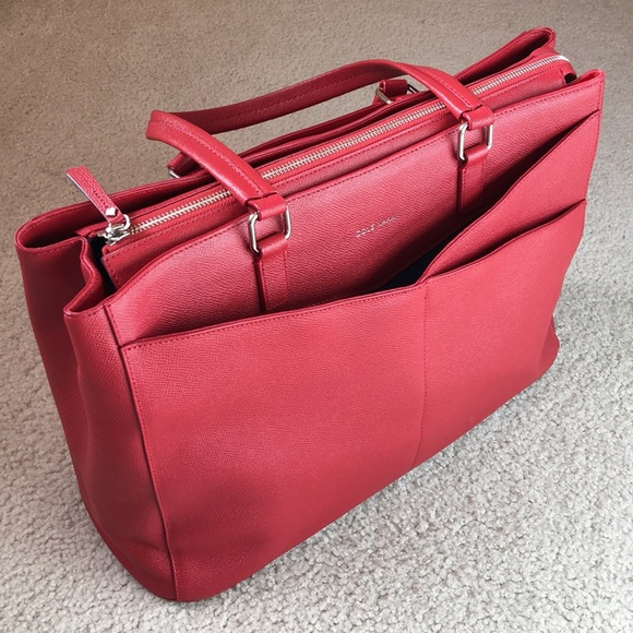 a77ca43249c Cole Haan Bags | Nwt Large Red Toteamerican Airline Rare | Poshmark