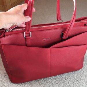 c8ea42f65a8 Cole Haan Bags - NWT COLE HAAN Large Red Tote/American Airline RARE