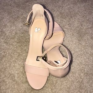 BP strappy heels