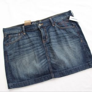 GAP Denim Mini Skirt NWT