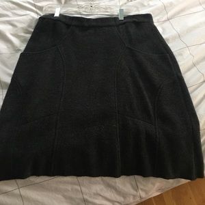 A-line wool skirt from Anthropology