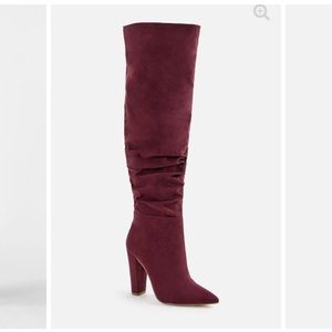 Knee high boots from JustFab