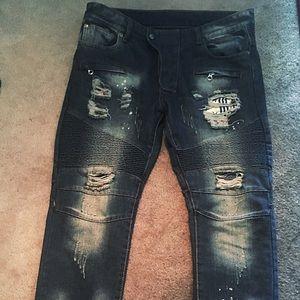 Balmain Biker Men's Jeans 👖