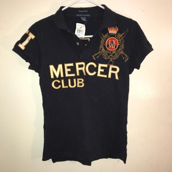 b848961d3 Ralph Lauren Mercer Club Polo NWT