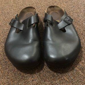 Birkenstock Black Clogs