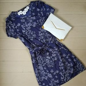 Retro Style Floral Easy Dress