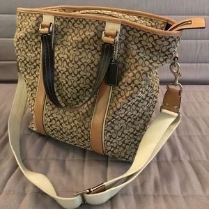 Large Coach Travel/Business Tote