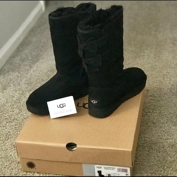 0e8c2988915 💯Authentic UGG Allegra Bow Boutique