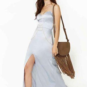 For Love and Lemons Silver dress