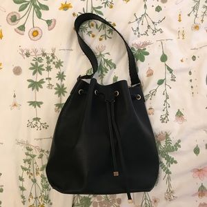 H&M Black Bucket Bag