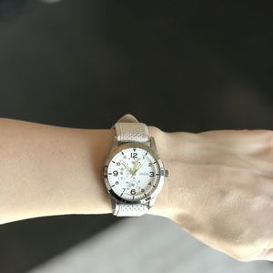 Guess Women's Leather Band Watch