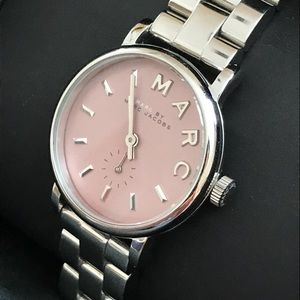 Marc by MarcJacobs  Satin Blush Classic Watch 28mm