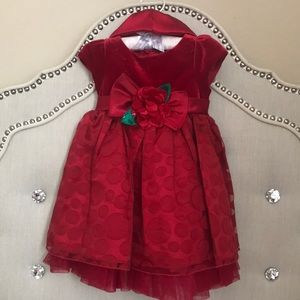 Other - Baby Girl Holiday Dress