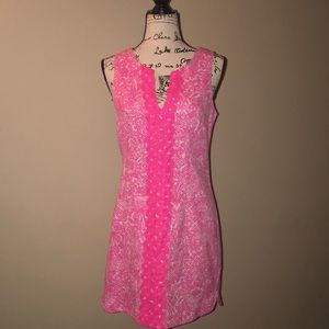 Lilly Pulitzer for target dress pink size 6