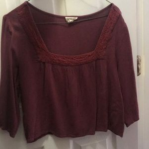 Princess Flowy Crop Top
